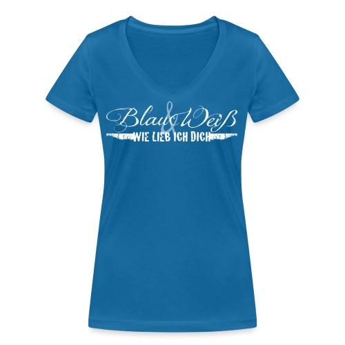 bundw-wieliebichdich - Frauen Bio-T-Shirt mit V-Ausschnitt von Stanley & Stella