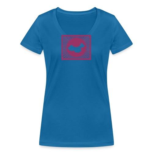 chinaSHINING - Women's Organic V-Neck T-Shirt by Stanley & Stella