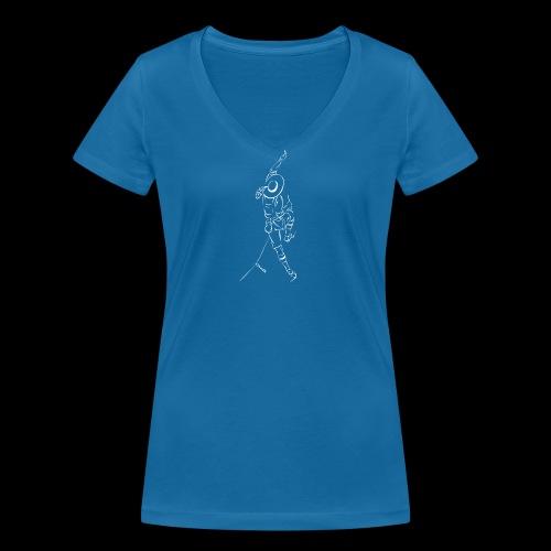 Tiroler Bergsteiger - T-shirt ecologica da donna con scollo a V di Stanley & Stella