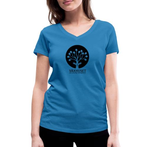 Växhuset - Ekologisk T-shirt med V-ringning dam från Stanley & Stella