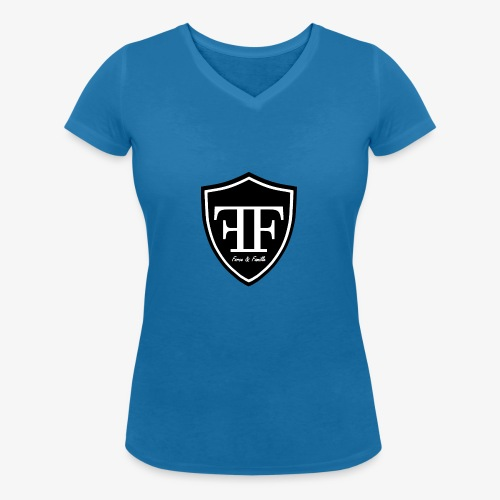 Force & Famille Principal - T-shirt bio col V Stanley & Stella Femme