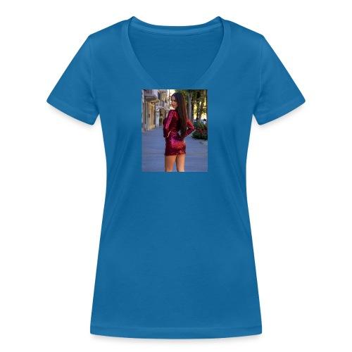 Cecilia Russo - T-shirt ecologica da donna con scollo a V di Stanley & Stella