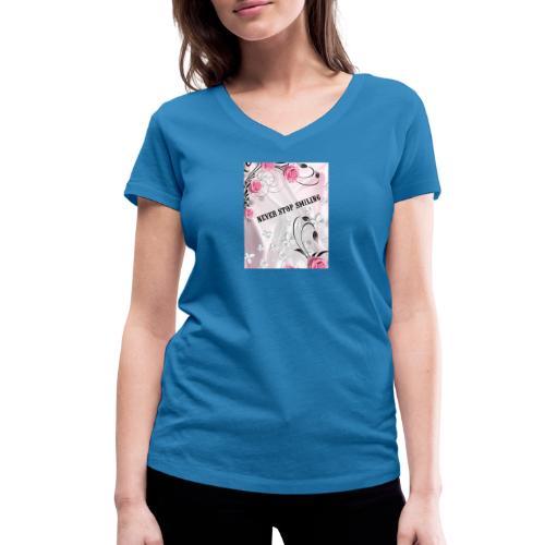 1541709554668 - T-shirt ecologica da donna con scollo a V di Stanley & Stella