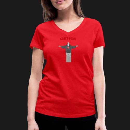God's Plan - T-shirt bio col V Stanley & Stella Femme