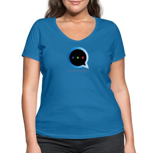 GS Model - T-shirt ecologica da donna con scollo a V di Stanley & Stella