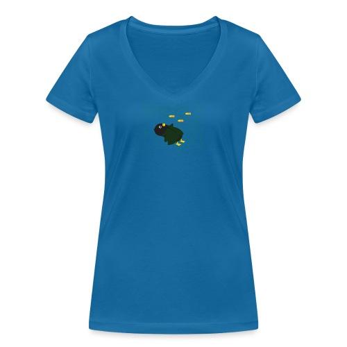 Pingouin Bullet Time - T-shirt bio col V Stanley & Stella Femme