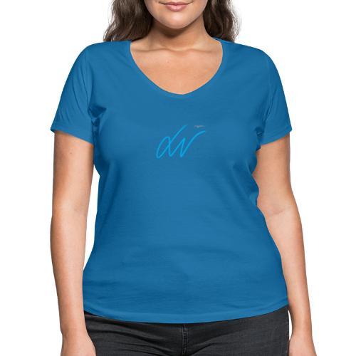 LavoroMeglio - T-shirt ecologica da donna con scollo a V di Stanley & Stella