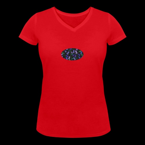 blue bells - T-shirt bio col V Stanley & Stella Femme