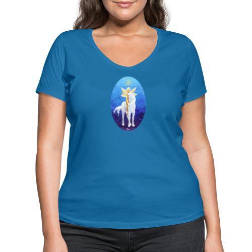 Das Leben ist magisch! - Frauen Bio-T-Shirt mit V-Ausschnitt von Stanley & Stella