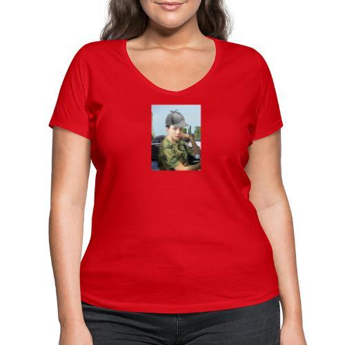 Detektiv Laurin - Frauen Bio-T-Shirt mit V-Ausschnitt von Stanley & Stella