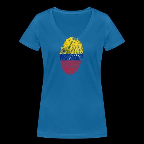venezuela 653088 1920 - Camiseta ecológica mujer con cuello de pico de Stanley & Stella