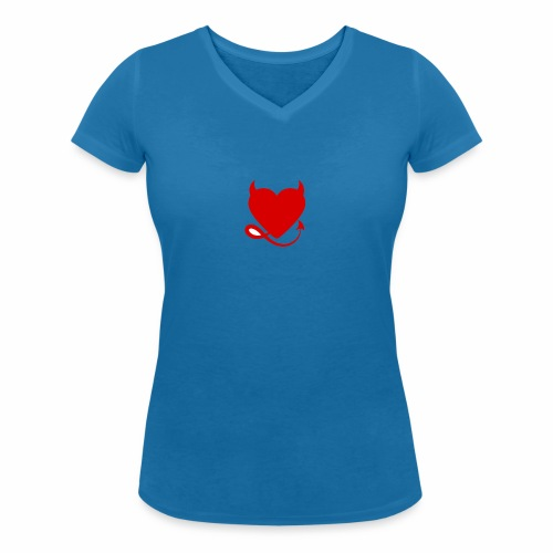 diablita - Camiseta ecológica mujer con cuello de pico de Stanley & Stella
