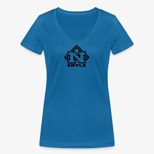 SNYLZ ~ symbol - Frauen Bio-T-Shirt mit V-Ausschnitt von Stanley & Stella