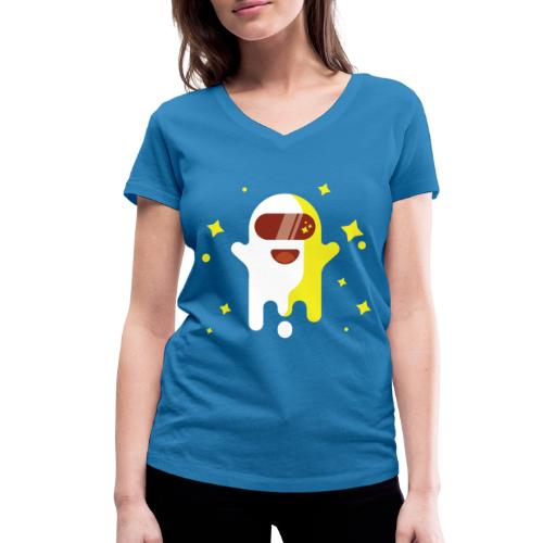 Fantôme astronaute - T-shirt bio col V Stanley & Stella Femme