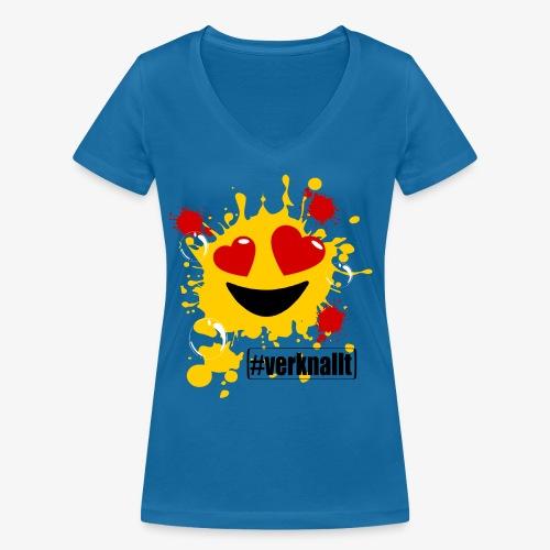 verknallt - Frauen Bio-T-Shirt mit V-Ausschnitt von Stanley & Stella