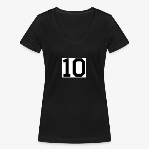 8655007849225810518 1 - Women's Organic V-Neck T-Shirt by Stanley & Stella