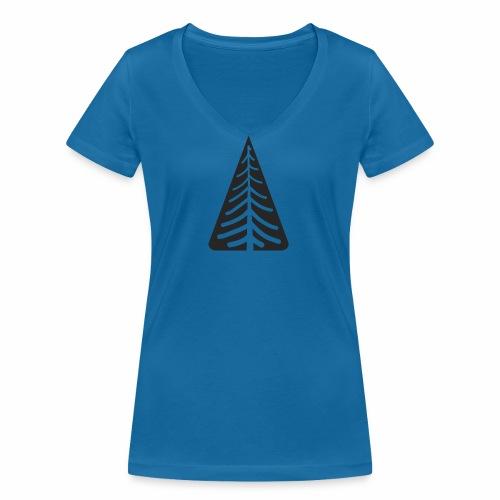 Tannen Logo - Frauen Bio-T-Shirt mit V-Ausschnitt von Stanley & Stella
