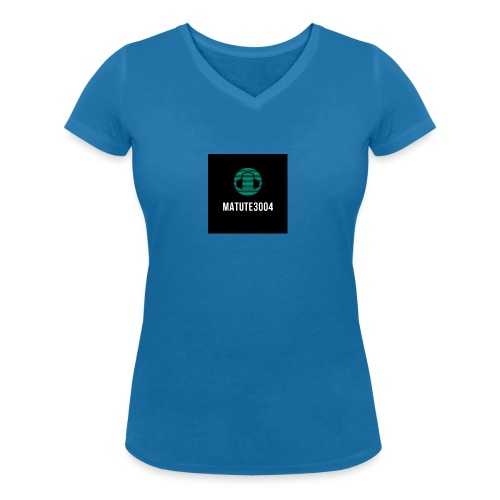 Matute3004 - Camiseta ecológica mujer con cuello de pico de Stanley & Stella