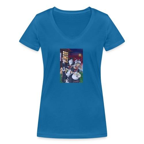 Butlers and Maids - Frauen Bio-T-Shirt mit V-Ausschnitt von Stanley & Stella
