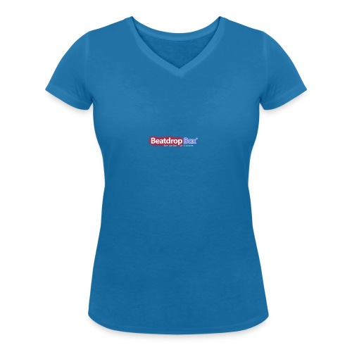 beatdropbox logo final and hires - Vrouwen bio T-shirt met V-hals van Stanley & Stella