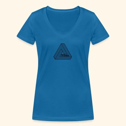 vibes - Frauen Bio-T-Shirt mit V-Ausschnitt von Stanley & Stella