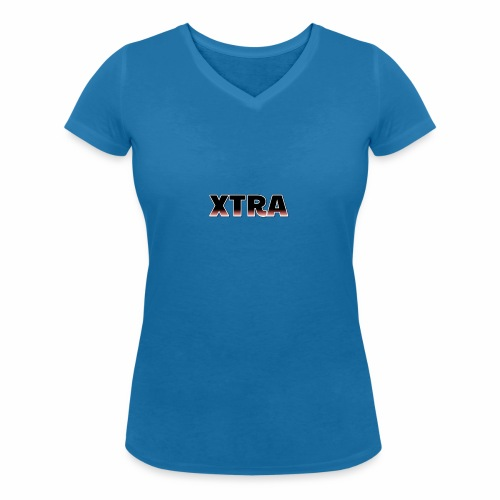 Xtra - Økologisk Stanley & Stella T-shirt med V-udskæring til damer