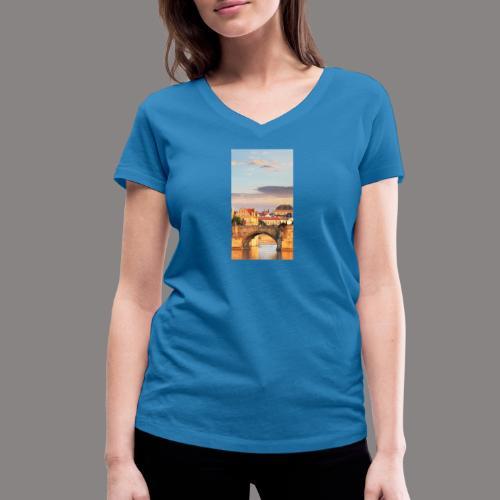 magazine unlock 05 2 3 1299 474002B37859192183180 - Stanley & Stellan naisten v-aukkoinen luomu-T-paita