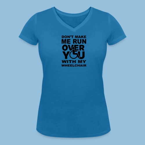 Runover1 - Vrouwen bio T-shirt met V-hals van Stanley & Stella