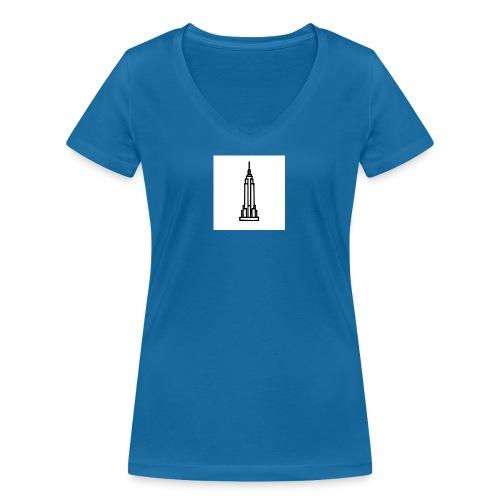 Empire State Building - T-shirt bio col V Stanley & Stella Femme
