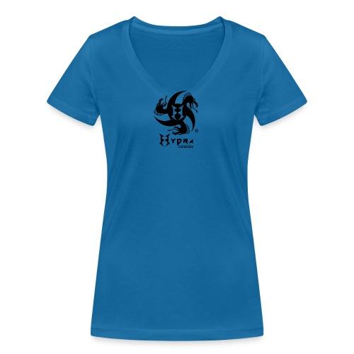 Hydra DESIGN - logo blk - T-shirt ecologica da donna con scollo a V di Stanley & Stella