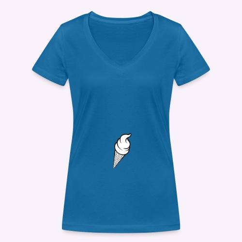 13872 png - T-shirt bio col V Stanley & Stella Femme