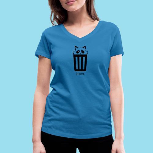 Home by Lynks - Frauen Bio-T-Shirt mit V-Ausschnitt von Stanley & Stella