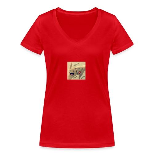 Friends 3 - Women's Organic V-Neck T-Shirt by Stanley & Stella