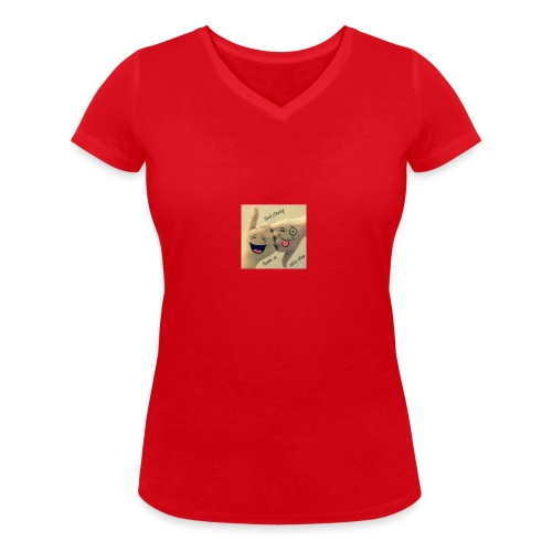 Friends 3 - Women's Organic V-Neck T-Shirt by Stanley & Stella
