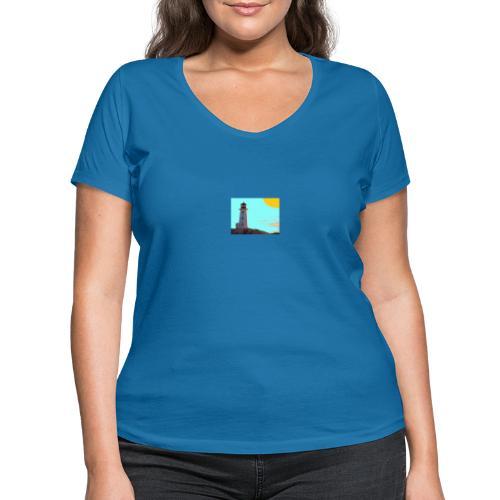 fantasimm 1 - T-shirt ecologica da donna con scollo a V di Stanley & Stella