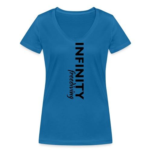 Infinity - Frauen Bio-T-Shirt mit V-Ausschnitt von Stanley & Stella