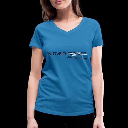 dubios - Frauen Bio-T-Shirt mit V-Ausschnitt von Stanley & Stella