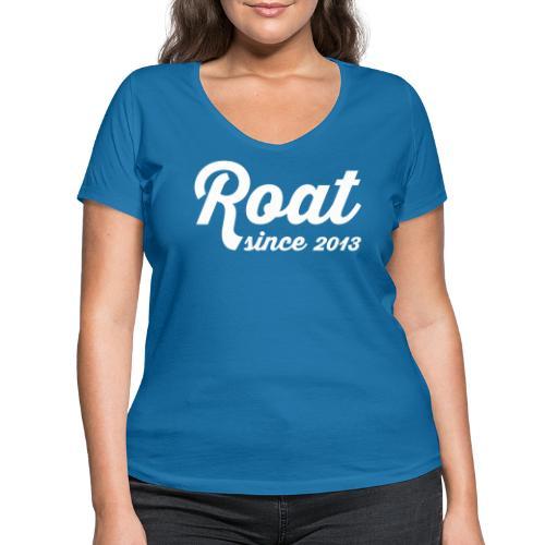 Roat since 2013 - Økologisk Stanley & Stella T-shirt med V-udskæring til damer