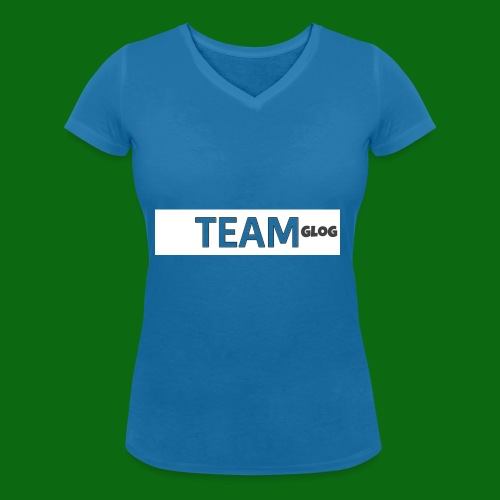 Team Glog - Women's Organic V-Neck T-Shirt by Stanley & Stella