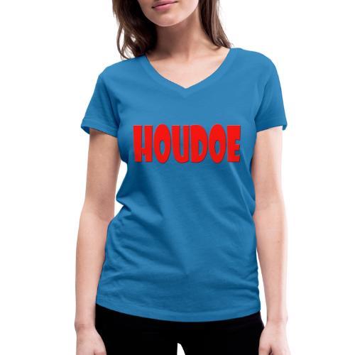Houdoe - Vrouwen bio T-shirt met V-hals van Stanley & Stella