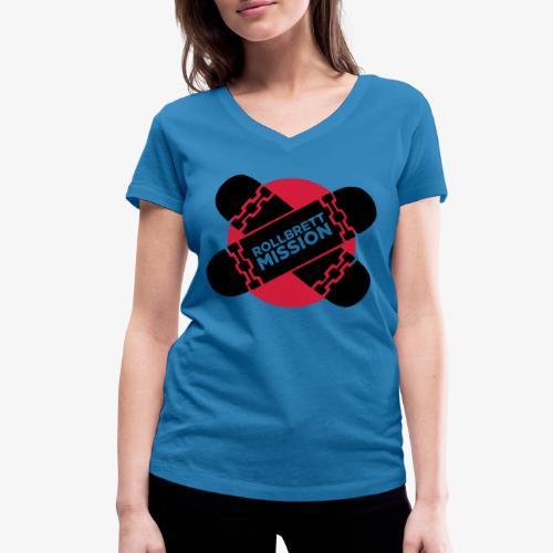 Mission Nippon - Frauen Bio-T-Shirt mit V-Ausschnitt von Stanley & Stella