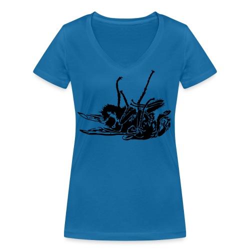 mouche morte - T-shirt bio col V Stanley & Stella Femme
