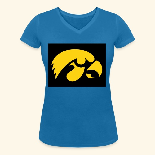 YellowHawk shirt - Vrouwen bio T-shirt met V-hals van Stanley & Stella