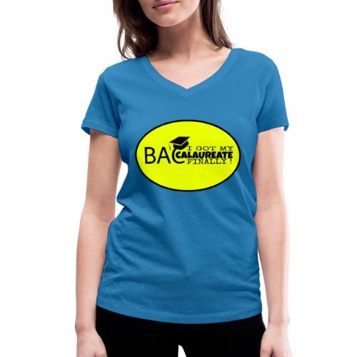 Baccalaureate Design - T-shirt bio col V Stanley & Stella Femme