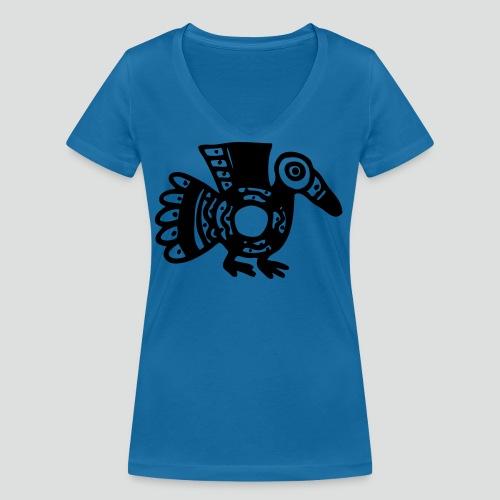 Incabird - Frauen Bio-T-Shirt mit V-Ausschnitt von Stanley & Stella