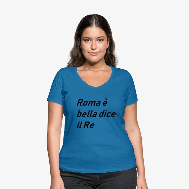 ROMA è bella dice il RE