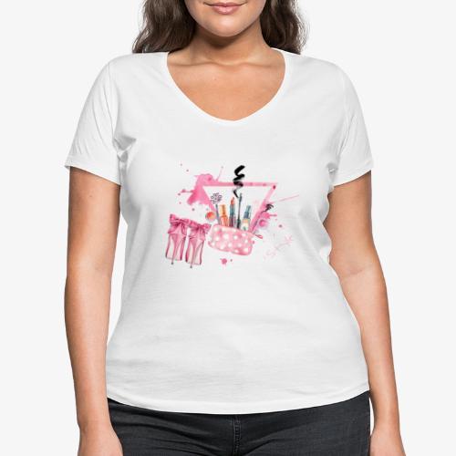 Style - T-shirt ecologica da donna con scollo a V di Stanley & Stella