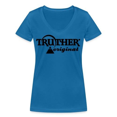 Truther - Frauen Bio-T-Shirt mit V-Ausschnitt von Stanley & Stella