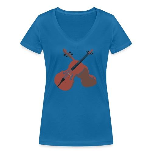 Cello - Women's Organic V-Neck T-Shirt by Stanley & Stella