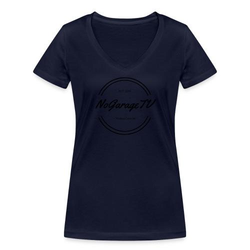 NoGarageTV (3) - Økologisk Stanley & Stella T-shirt med V-udskæring til damer